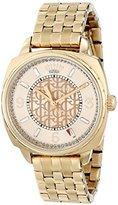 Juicy Couture Women's 1901175 Beau Analog Display Quartz Gold Watch