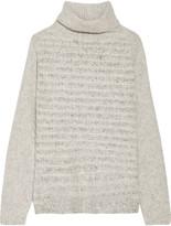 Line Vera bouclé-knit turtleneck sweater