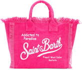 Mc2 Saint Barth Kids logo denim beach bag