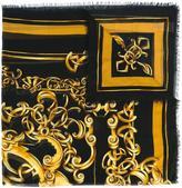Versace Barocco print scarf - women - Silk/Modal - One Size