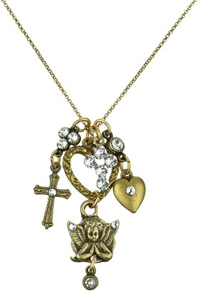 Anne Koplik Faith Jumble Necklace