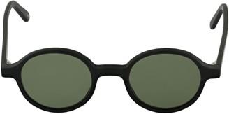 L.G.R Reunion Round Acetate Sunglasses