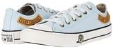 Converse Chuck Taylor(r) All Star(r) Camp - Ox (Little Kid/Big Kid) (Agate Blue/Khaki/Vintage White) Boy's Shoes