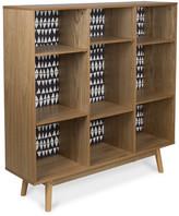 Monochrome Adjustable Wooden Bookcase