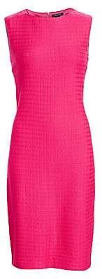 St. John Women's Box Texture Knit Sheath Dress - Size 0