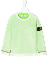Stone Island Junior - washed sweatshirt - kids - Cotton - 6 yrs