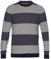 Dunhill Herringbone-knit Cotton Sweater