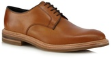 Loake Tan Leather Derby Shoes