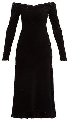 Maria Lucia Hohan Elaina Sequinned Dress - Womens - Black