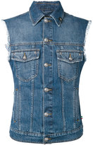 Philipp Plein denim vest - men - Cotton/Polyester - L