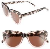 Komono Women's Stella 51Mm Sunglasses - Rose Dust