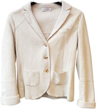 Brunello Cucinelli Ecru Leather Jackets