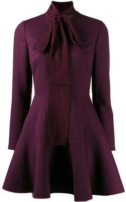 Valentino foulard detailed dress