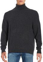 Black Brown 1826 Turtleneck Cashmere Sweater