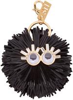 Sophie Hulme Black Leonard Keychain