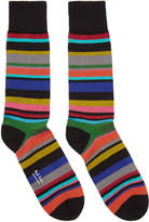 Paul Smith Black Striped Bolog Socks