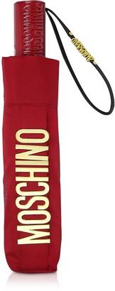 Moschino New Metal Logo Open/close Umbrella