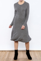 Molly Bracken Gray Sweater Dress