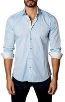 Jared Lang Melange Button-Down Sportshirt