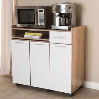 """Ebern Designs Gillman 33"""" Kitchen Pantry Ebern Designs"""