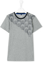 Armani Junior printed T-shirt
