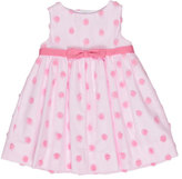 Florence Eiseman Sleeveless Tulle Rosette Dress, Pink, Size 6-24 Months