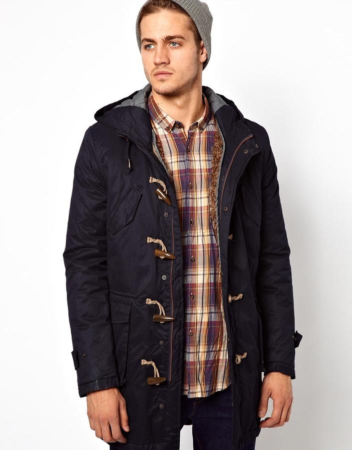 Antony Morato Duffle Coat With Borg Detachable Lining