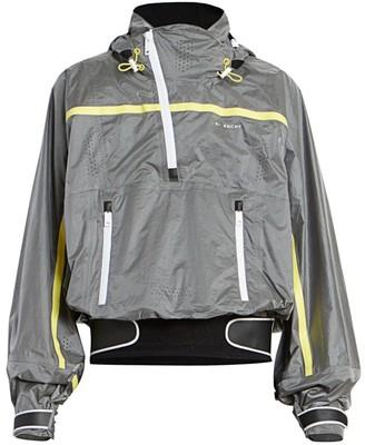 Givenchy Nylon Graphic Half-Zip Jacket