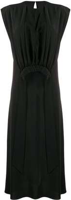 Victoria Victoria Beckham Gathered Bib Dress