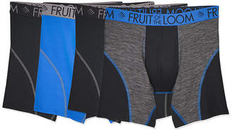 Fruit of the Loom 4 Pair Boxer Briefs