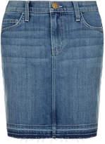 Current/Elliott Current Elliott The Skinny Denim Mini Skirt