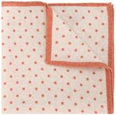 Eleventy polka dot pocket square scarf