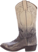 Frye Distressed Western Boots