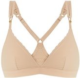 Stella-McCartney-Lingerie STELLA MCCARTNEY LINGERIE Frappe perforated soft-cup bra