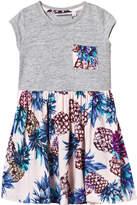 Molo Pineapple Print Cecelia Dress
