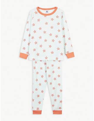 Petit Bateau Star and stripes cotton pyjama set 2-12 years
