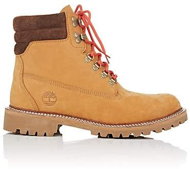 Timberland Men's BNY Sole Series: Nubuck Lace-Up Boots - Lt. brown