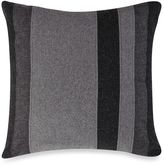 Kenneth Cole Reaction Home Obsidian Mixed Material Oblong Throw Pillow in Black/Grey