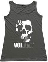 EnHui Honey Volbeat O Neck Tank Top Tees M DeepHeather