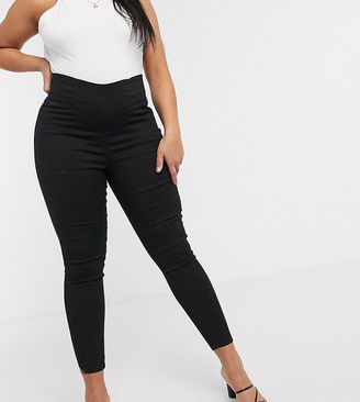 On Urban Bliss Plus super stretch pull skinny jeans