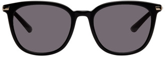 McQ Black Swallow Round Sunglasses