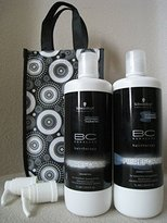 Schwarzkopf BC Fibre Force Shampoo and Conditioner Duo (For Extremely Damaged Hair) 1000Ml/33.8Oz