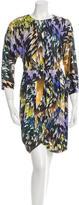 Matthew Williamson Silk Prrinted Dress