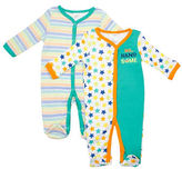 Baby Gear Two-Piece Mr. Handsome Footie Set