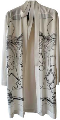 Hermes White Silk Knitwear