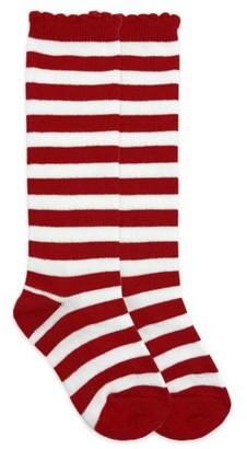 Jefferies Socks Girls Knee High Socks 1-Pack, Sizes XS-M
