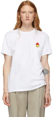 Ami Alexandre Mattiussi White Smiley Edition T-Shirt