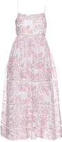 Zimmermann Roza cotton and silk-blend dress