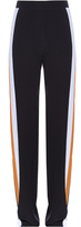 Stella McCartney Contrast-side wide-leg trousers