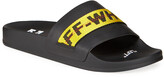 Off-White Off White Men's Industrial Leather Slide Sandals